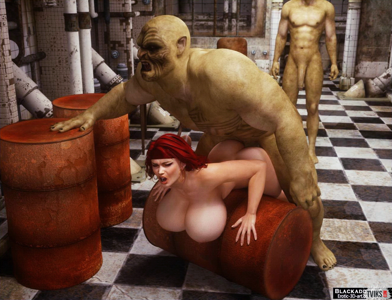 Порно монстров и уродов