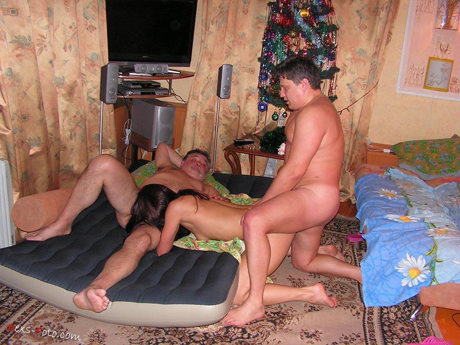 Домашнее порно видео с пьяными русскими свингерами ...