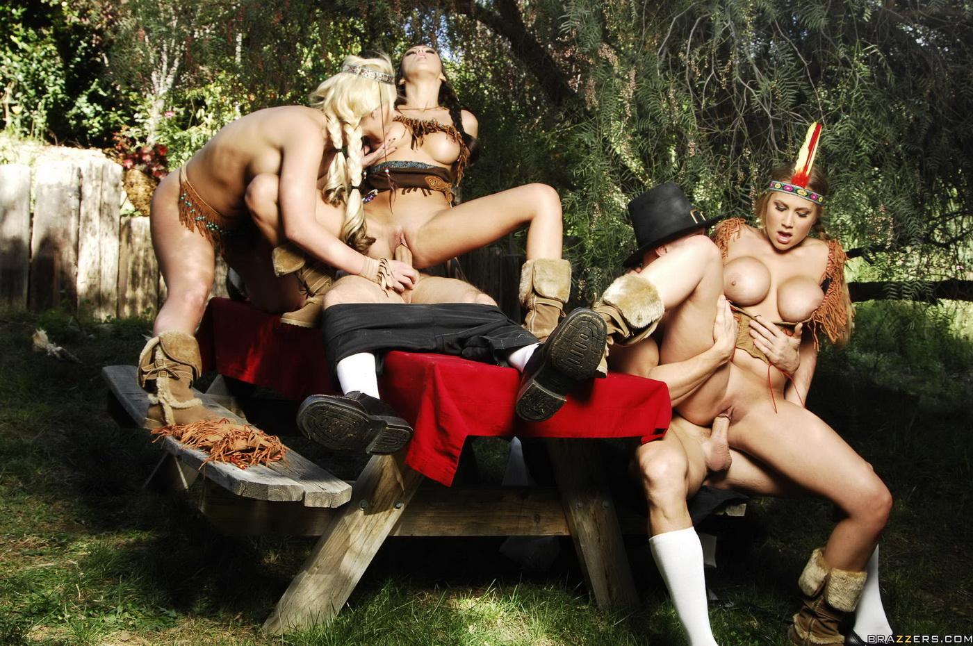 Порно-амазонка