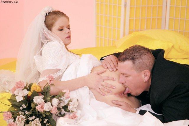 Жесткий секс в свадбе